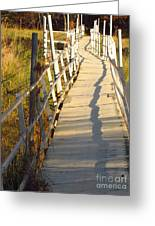 Crooked Bridge Greeting Card