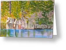 Crooked Creek 1 Greeting Card