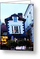 Crooked House Of Windsor Greeting Card