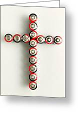 Cross Batteries 1 A Greeting Card