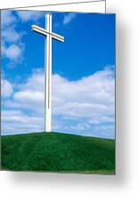 Cross Built For The Late Pope John Paul Greeting Card
