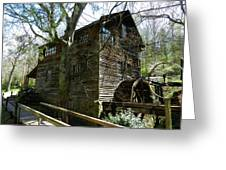Cross Eyed Cricket Grist Mill Greeting Card