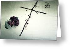 Cross Greeting Card