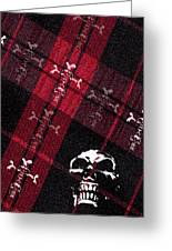 Cross Skulls Greeting Card