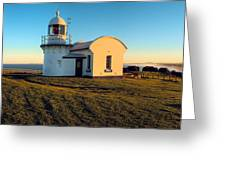 Crowdy Head Lighthouse  Greeting Card