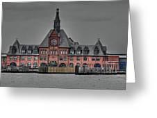 Crrnj Terminal Hdr Greeting Card