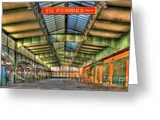 Crrnj Terminal I Greeting Card