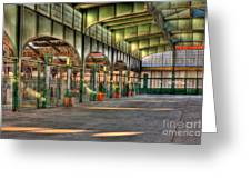 Crrnj Terminal II Greeting Card