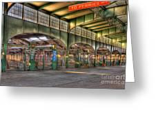 Crrnj Terminal IIi Greeting Card