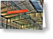 Crrnj Terminal Iv Greeting Card