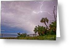 Crystal Beach Electrified Greeting Card