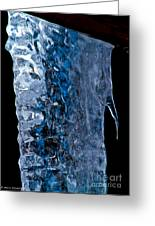Crystal Blue Greeting Card