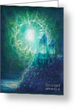 Crystal Cliff Greeting Card