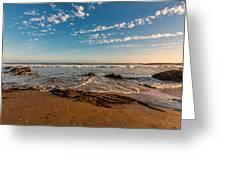 Crystal Cove At Sunset 2 Greeting Card