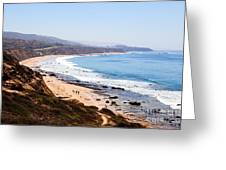 Crystal Cove Orange County California Greeting Card