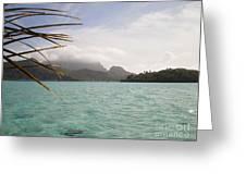 Crystal Island Bora Bora Greeting Card