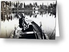 Crystal Lake California - C 1865 Greeting Card