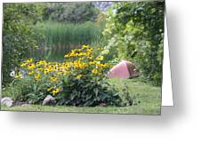 Crystal Lake State Park In Barton Vermont Greeting Card