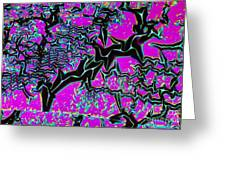 Crystal Nickel Oxide Greeting Card