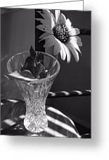 Crystal Sunflower Greeting Card
