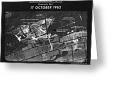 Cuban Missile Crisis, 1962 Greeting Card