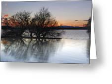 Cubillas Lake Greeting Card
