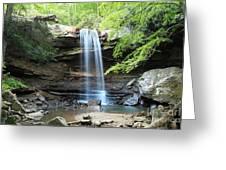 Cucumber Falls Pool Greeting Card