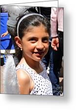 Cuenca Kids 131 Greeting Card by Al Bourassa