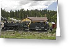 Cumbres Pass Water Stop Greeting Card
