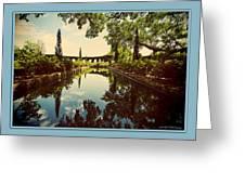 Cummer Pond Zen Greeting Card