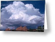 Cumulonimbus Cloud Greeting Card by Science Source
