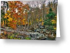 Cunningham Falls Viewing Platforms Greeting Card