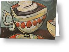 Cup Of Mocha Greeting Card
