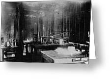 Curie Laboratory Greeting Card