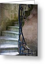 Curly Stairway Greeting Card