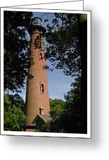 Currituck Beach Lighthouse Greeting Card