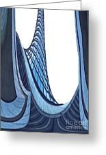 Curves - Archifou 42 Greeting Card