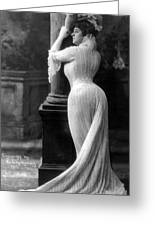 Curves In Black And White Greeting Card