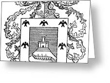 Cusco: Coat Of Arms Greeting Card