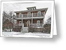 Cushings Point House Greeting Card