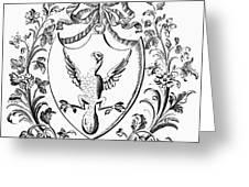 Custis: Coat Of Arms Greeting Card