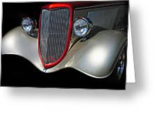 Custom Car Greeting Card