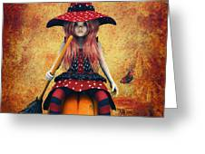 Cutest Little Witch Greeting Card