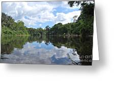 Cuyabeno River Greeting Card