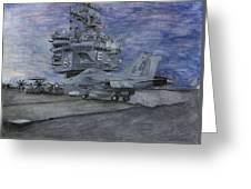 Cvn 65 Uss Enterprise Greeting Card