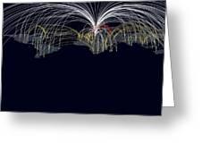 Cyber Warfare, Conceptual Image Greeting Card
