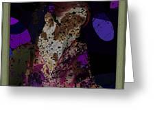 cybergeisha II Greeting Card by Adam Kissel