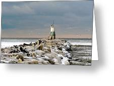 Cyc Lighthouse Greeting Card