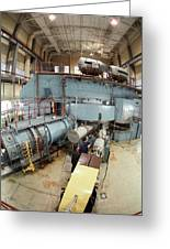 Cyclotron Particle Accelerator Greeting Card by Ria Novosti