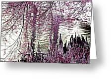 Cypress People Gather Greeting Card